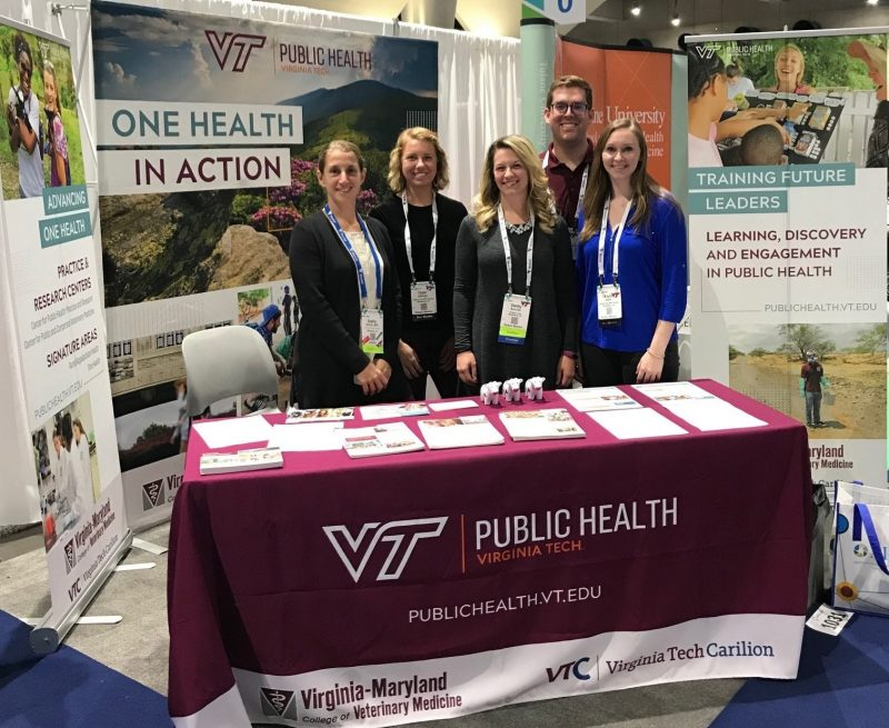 Public Health Program attends the APHA 2018 Annual Meeting & Public Health Expo in San Diego, California