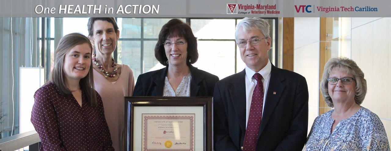 Master of Public Health program earns reaccreditation